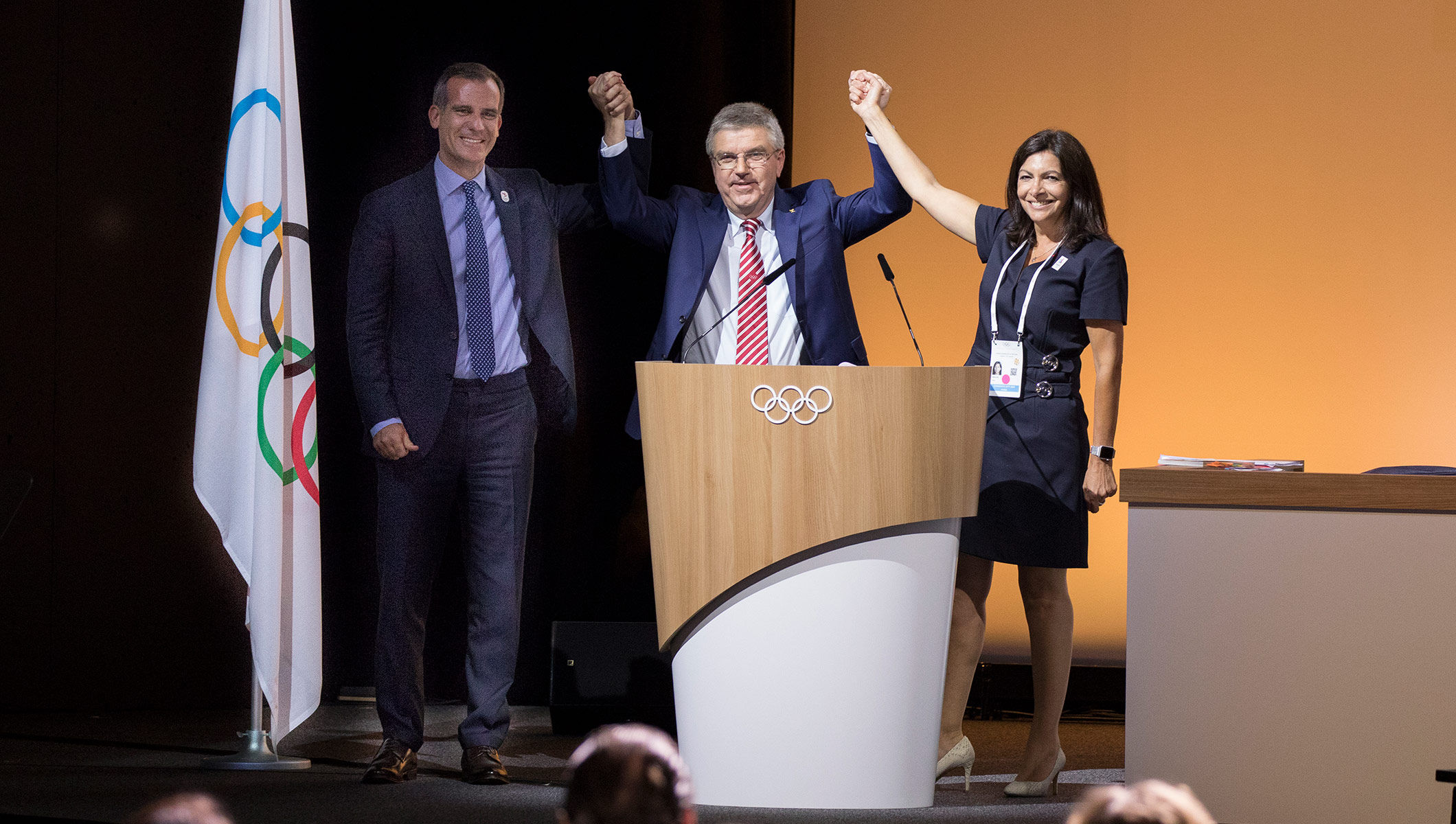 IOC makes historic decision in agreeing to award 2024 and 2028 Olympic Games at the same time