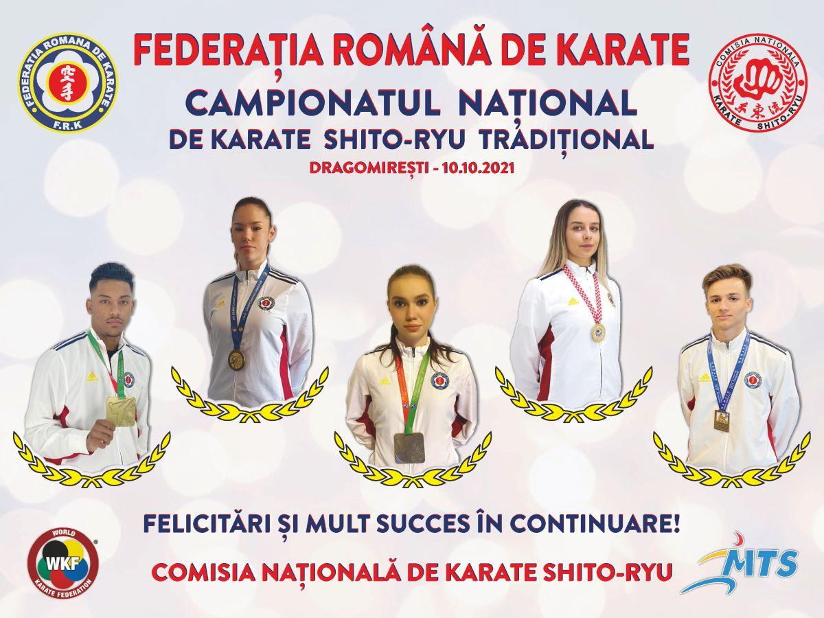Campionat National karate traditional oct-2021